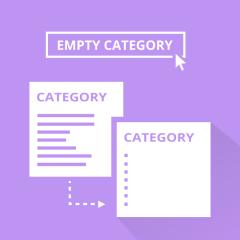 Category Empty Button pour Magento 2
