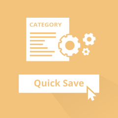 Quick Category Save for Magento 2